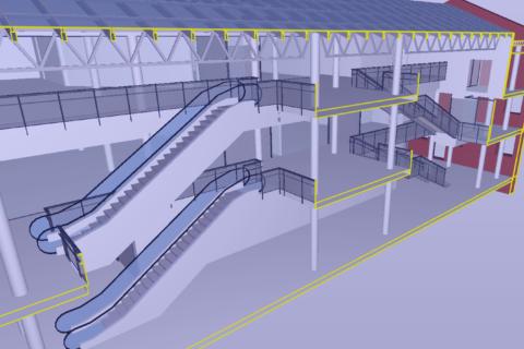 Port Artur I laserskaneerimine